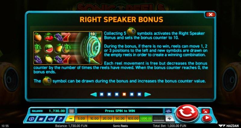 Sonic Reels :: Right Speaker Bonus