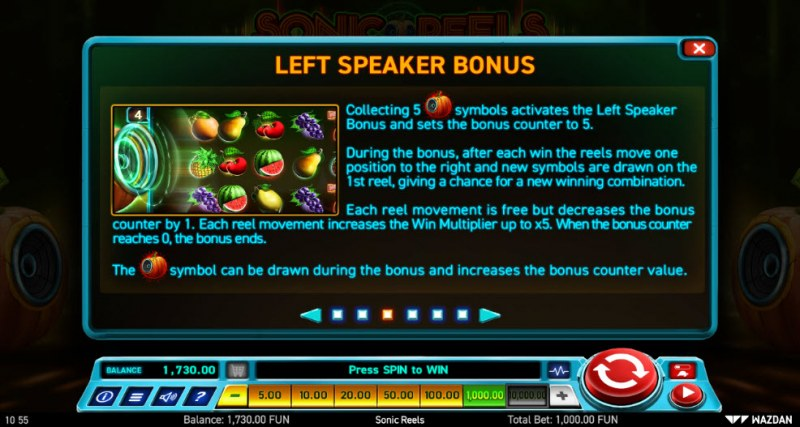 Sonic Reels :: Left Speaker Bonus