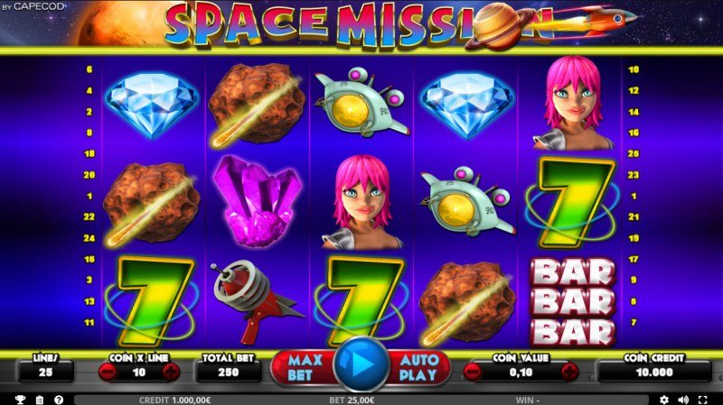 Space Mission :: Main Game Board