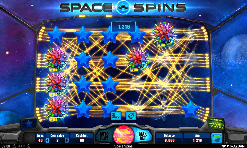 Space Spins :: Big Win