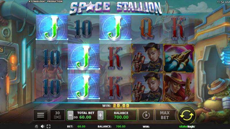 Space Stallion :: Three of a kind