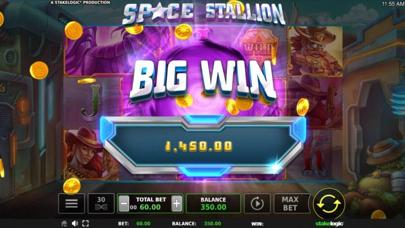 Space Stallion :: Big Win