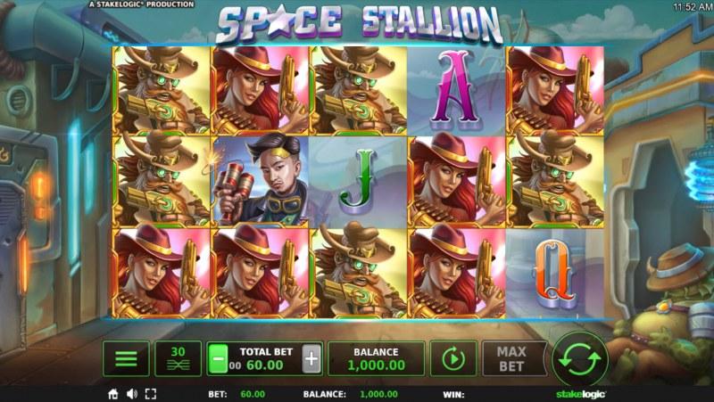 Space Stallion :: Main Game Board
