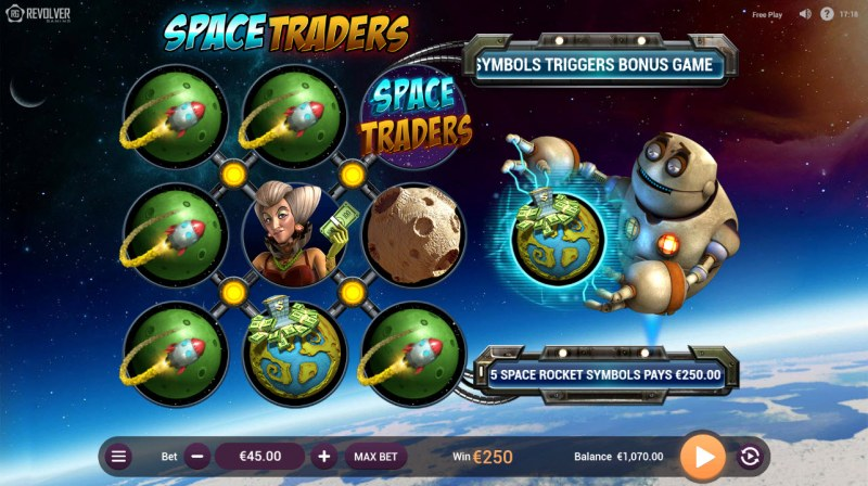 Space Traders :: Multiple winning combinations