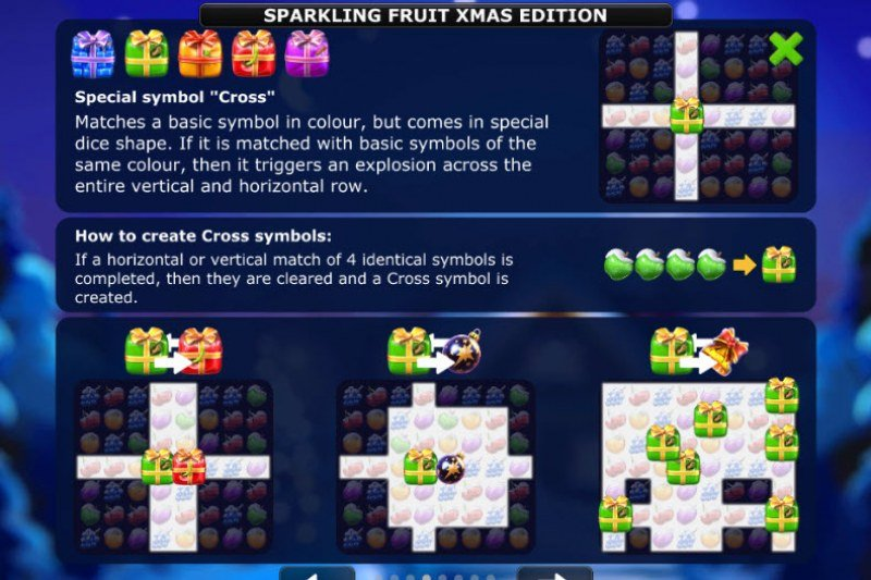 Sparkling Fruit Xmas Edition :: How to create symbols