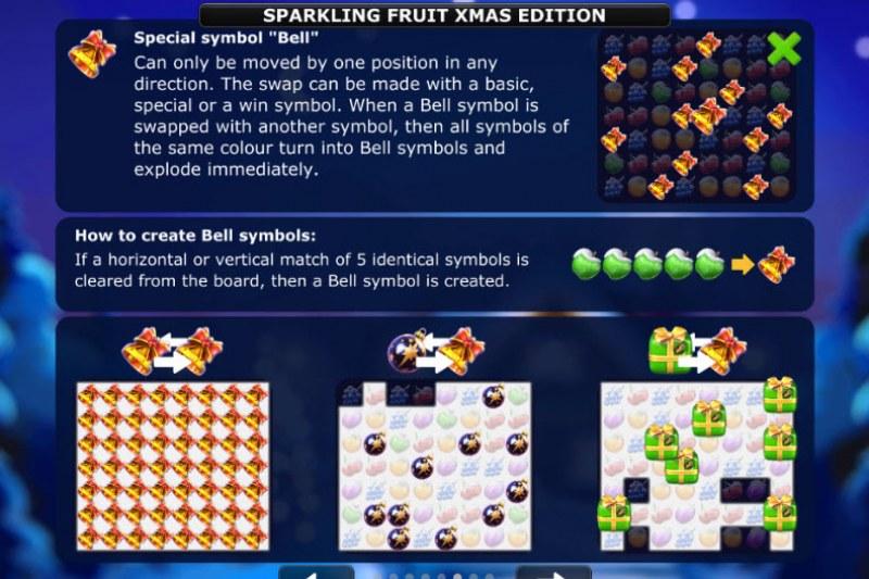 Sparkling Fruit Xmas Edition :: Special symbols