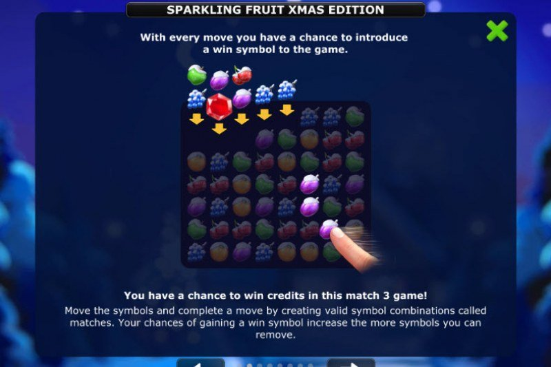Sparkling Fruit Xmas Edition :: How To Play 2