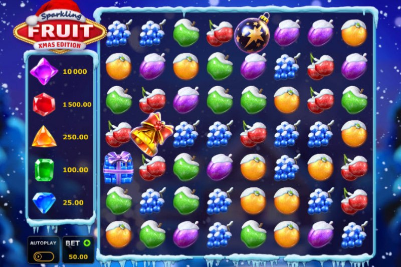 Sparkling Fruit Xmas Edition :: Main Game Board