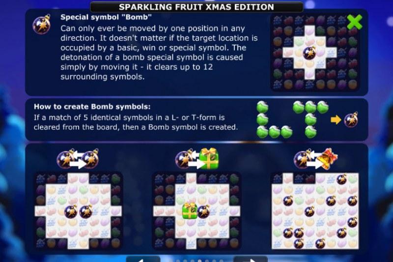 Sparkling Fruit Xmas Edition :: Bomb symbol