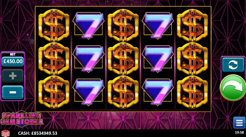 Sparkling Gemstones :: Base Game Screen