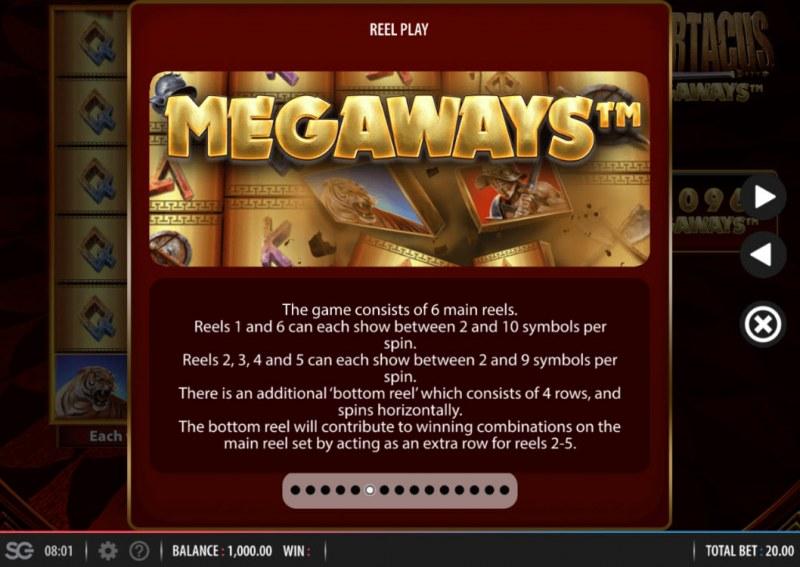 Spartacus Megaways :: Megaways