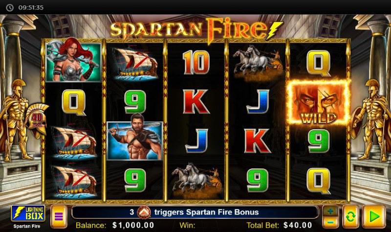 Spartan Fire :: Main Game Board