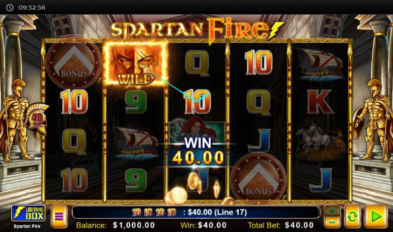 Spartan Fire :: Three of a kind