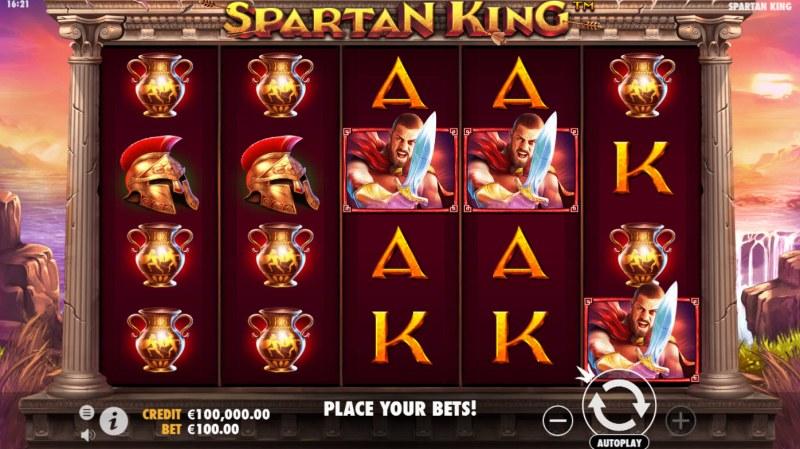 Spartan King :: Main Game Board