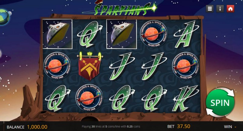 Spartans :: Main Game Board