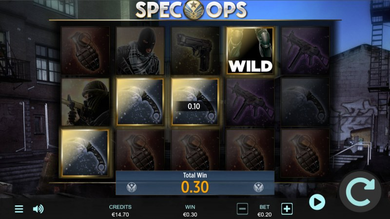 Spec-Ops :: A four of a kind win