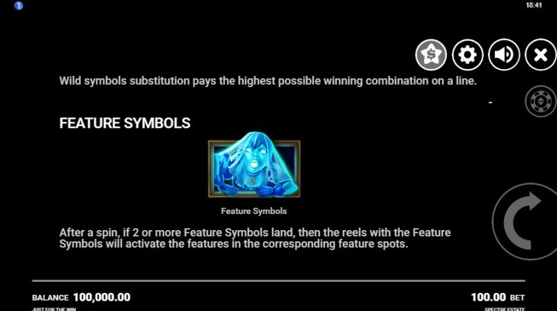 Spectre Estate :: Feature Symbol