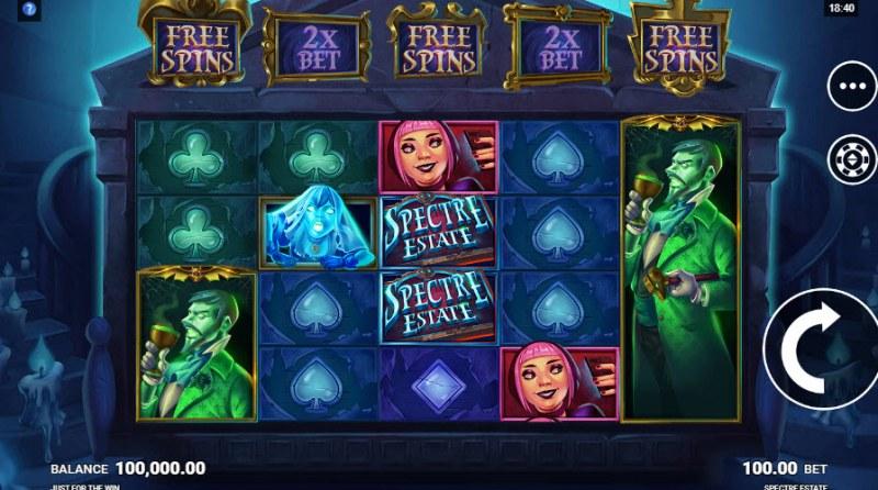 Spectre Estate :: Main Game Board