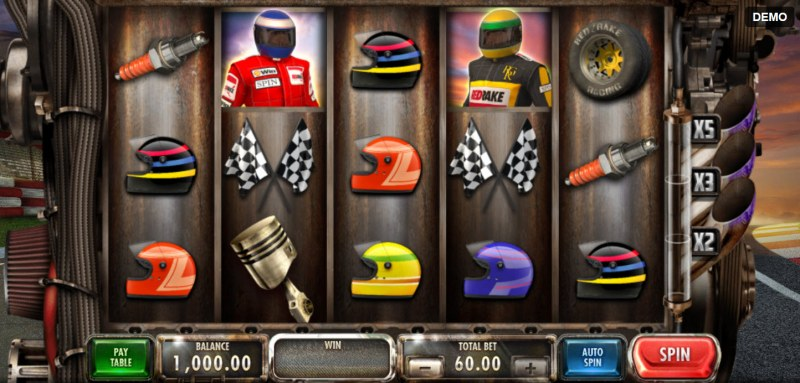 Speed Heroes :: Main Game Board