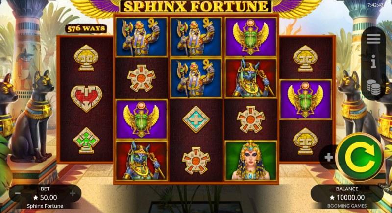 Sphinx Fortune :: Main Game Board