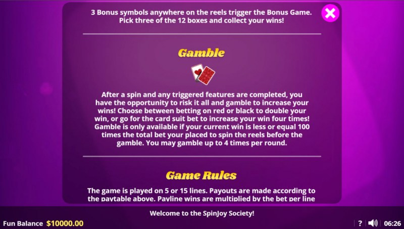 Spin Joy Society :: Gambler