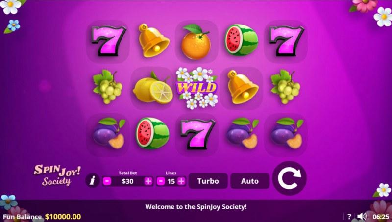 Spin Joy Society :: Main Game Board