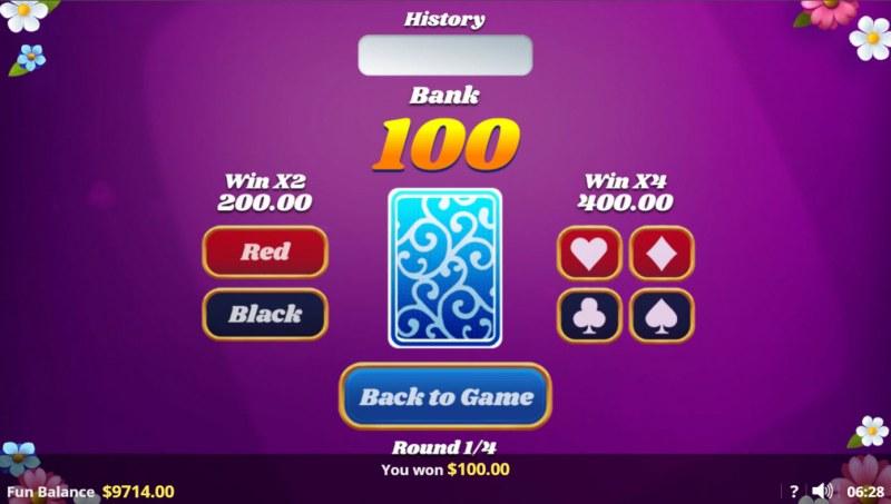 Spin Joy Society :: Gamble feature