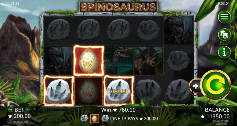 Spinosaurus :: Three of a kind
