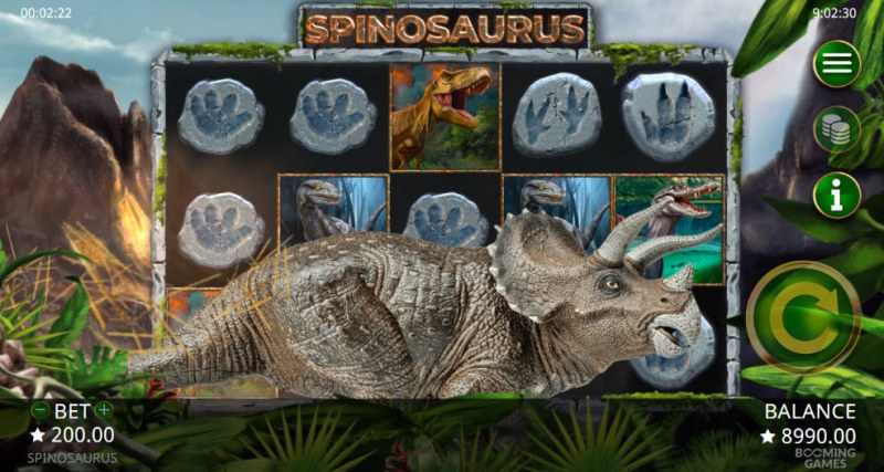 Spinosaurus :: Symbol swap feature activates randomly during any spin