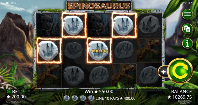 Spinosaurus :: Four of a kind
