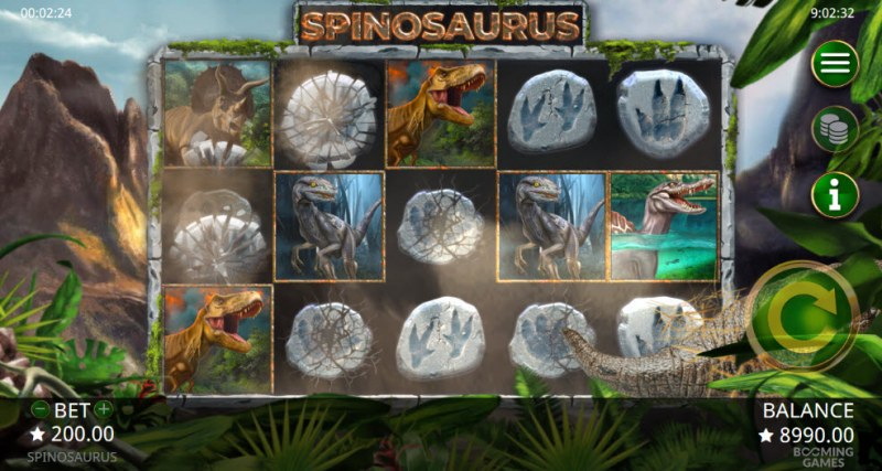 Spinosaurus :: Matching low value symbols are upgraded
