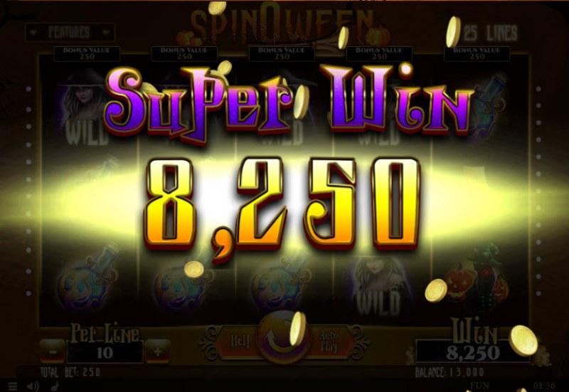 Spinoween :: Super Win