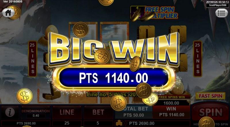 Spins Stone :: Big Win