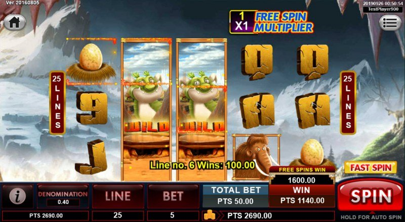 Spins Stone :: Multiple winning combinations leads to a big win