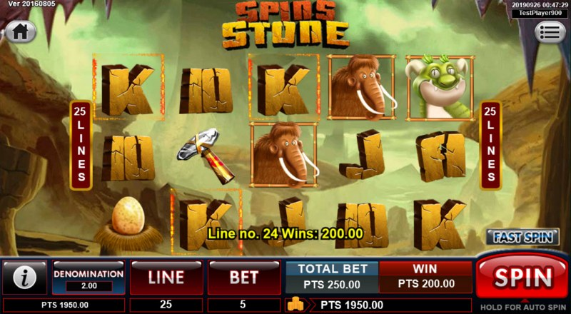 Spins Stone :: Three of a kind