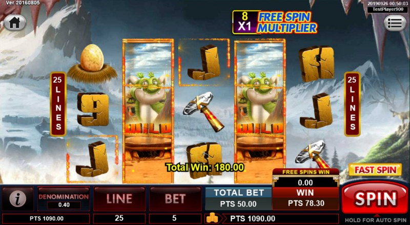 Spins Stone :: Free Spins Game Board