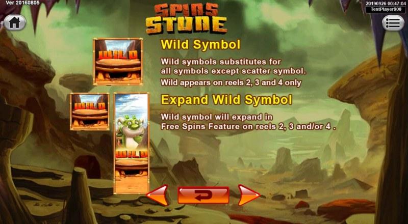 Spins Stone :: Wild Symbols Rules