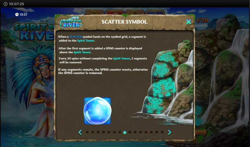 Spirit of the River :: Scatter Symbol Rules