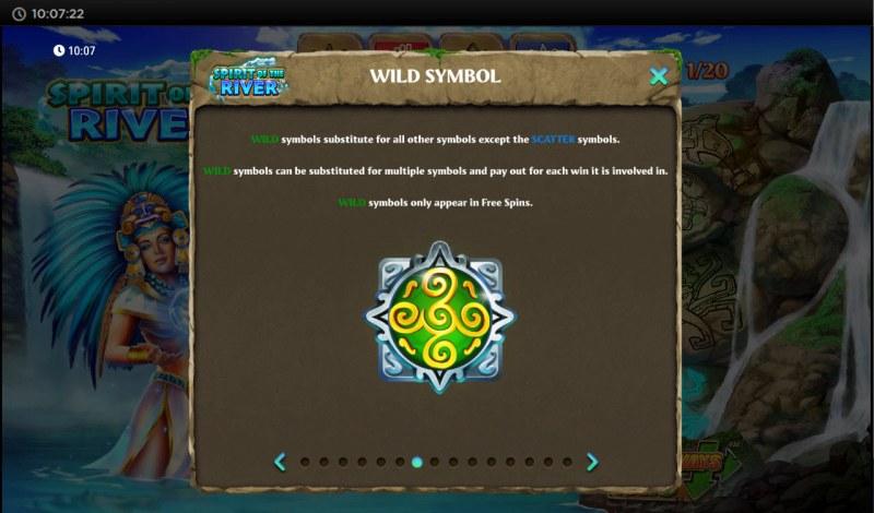 Spirit of the River :: Wild Symbol Rules