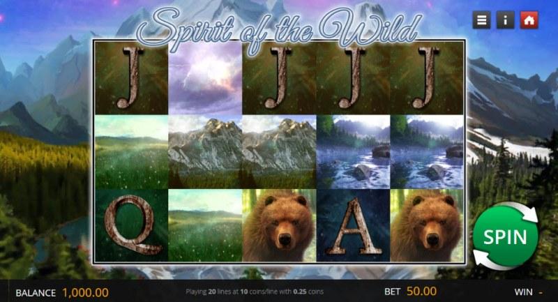Spirit of the Wild :: Main Game Board
