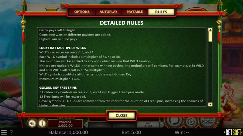 Spring Tails :: General Game Rules