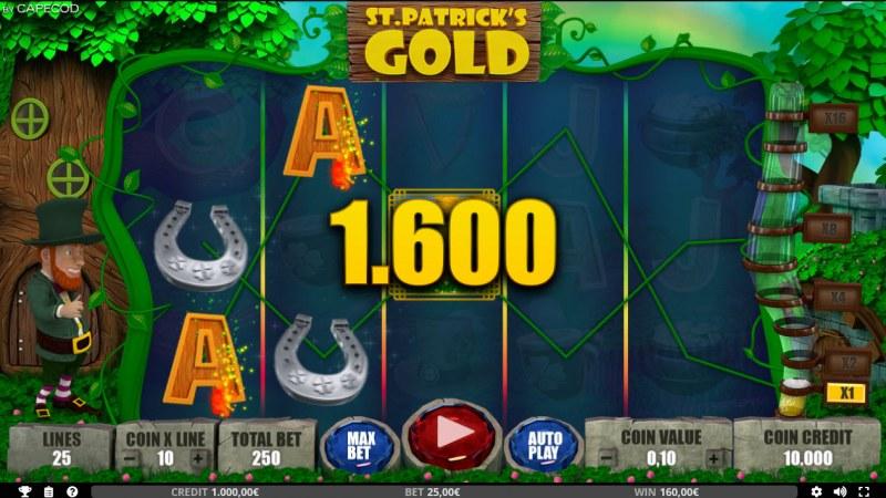 St. Patrick's Gold :: Multiple winning paylines
