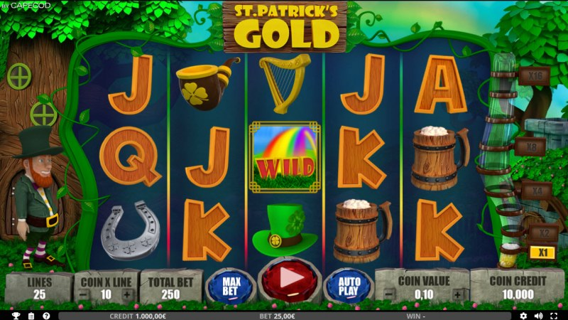 St. Patrick's Gold :: Main Game Board