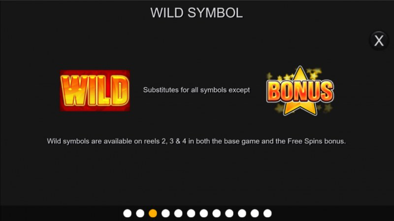 Stacked Fire 7s :: Wild Symbol Rules