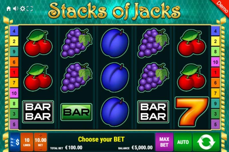 Stacks of Jacks :: Main Game Board
