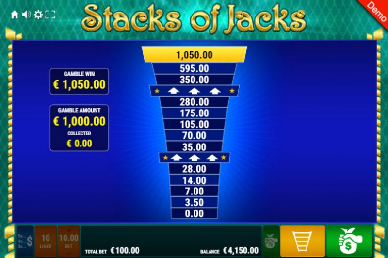 Stacks of Jacks :: Ladder Gamble Feature