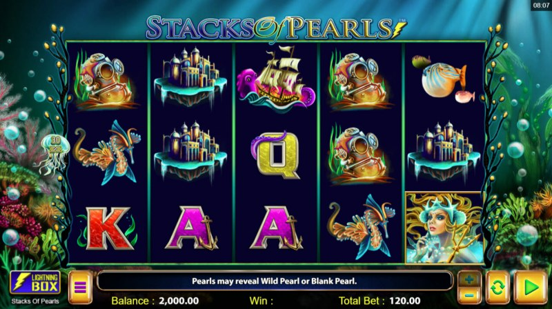 Stacks of Pearls :: Main Game Board