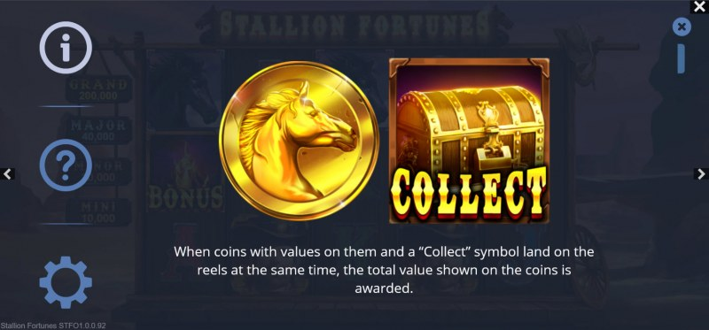 Stallion Fortunes :: Coin Collect Feature