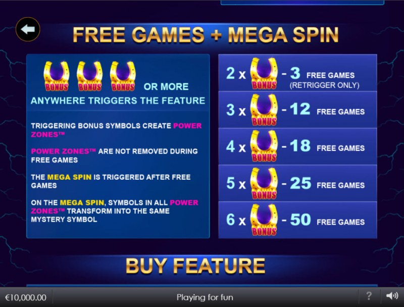 Stallion Strike :: Free Game Rules