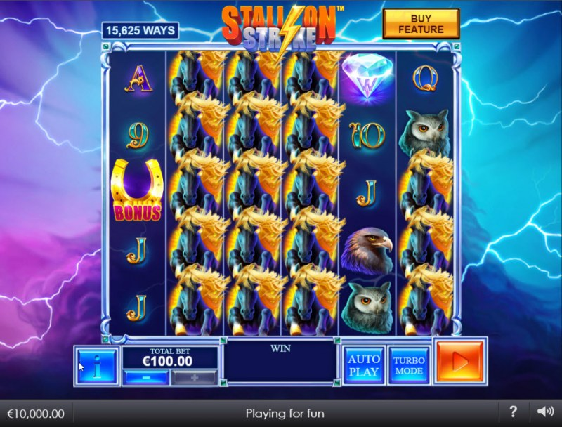 Stallion Strike :: Main Game Board